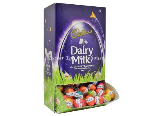 Cadbury Dairy Milk Solid Eggs Dispenser 2kg