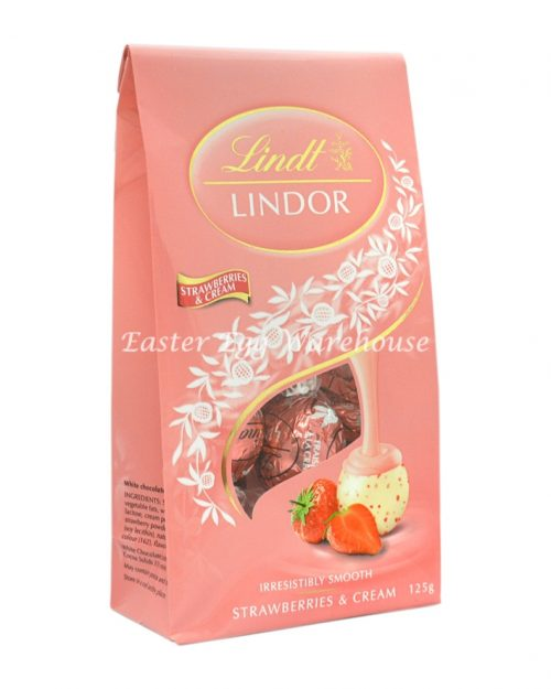 Lindt Lindor Strawberries & Cream Sharing Bag