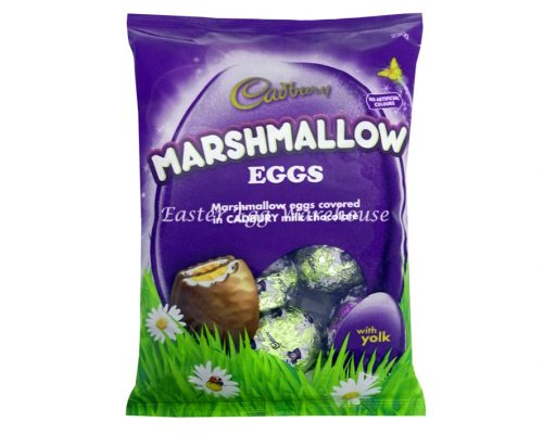 Cadbury Small Foil Marshmallow Eggs 230g Bag
