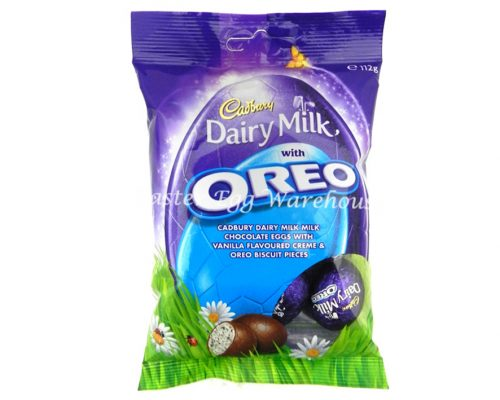 Cadbury Dairy Milk Oreo Egg Bag 112g