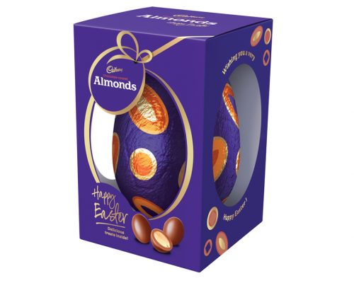 Cadbury Almond Deluxe Egg Gift Box 400g