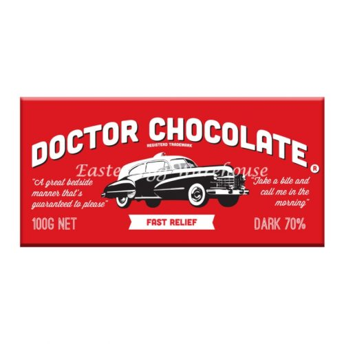 Doctor Chocolate - Milk Chocolate Bar 100g