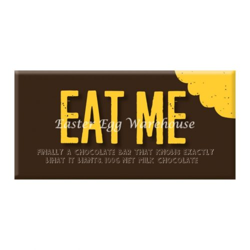 Eat Me - Milk Chocolate Bar 100g