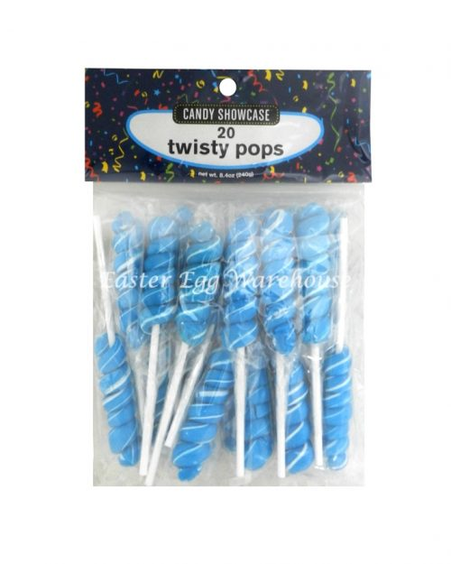 Blue & White Twisty Pops 20 x 12g