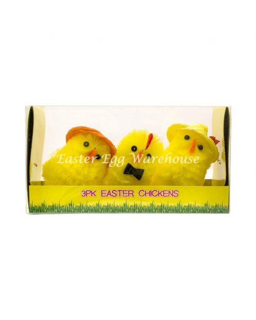 3 Piece Easter Chicks