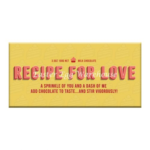 Recipe 4 Love - Milk Chocolate Bar 100g