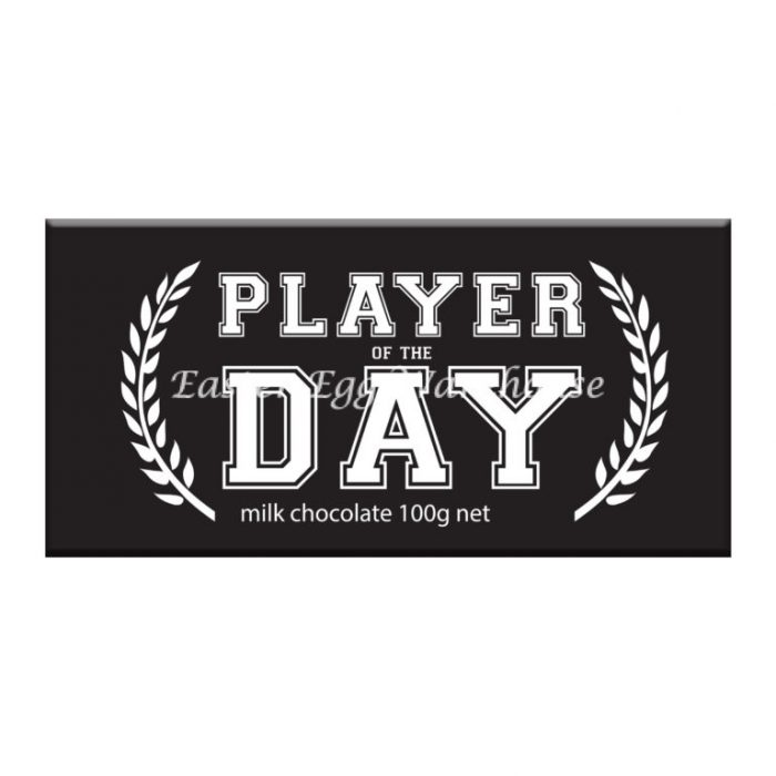 Player Of The Day - Milk Chocolate Bar 100g