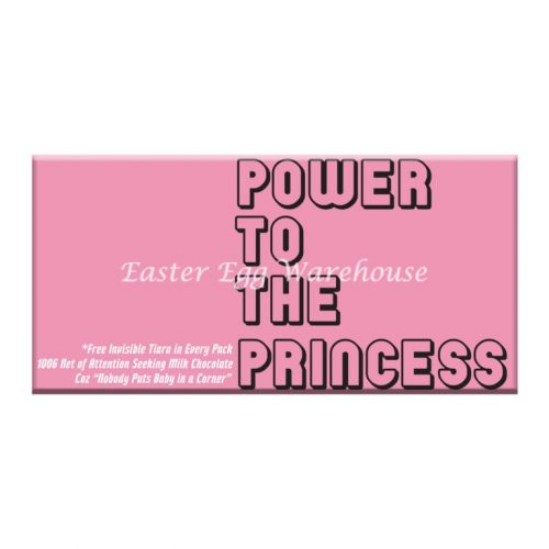 Power To The Princess - Milk Chocolate Bar 100g