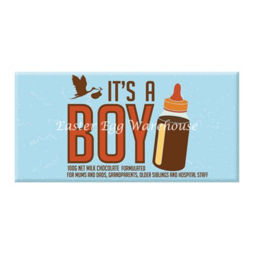 It's a BOY! - Milk Chocolate Bar 100g