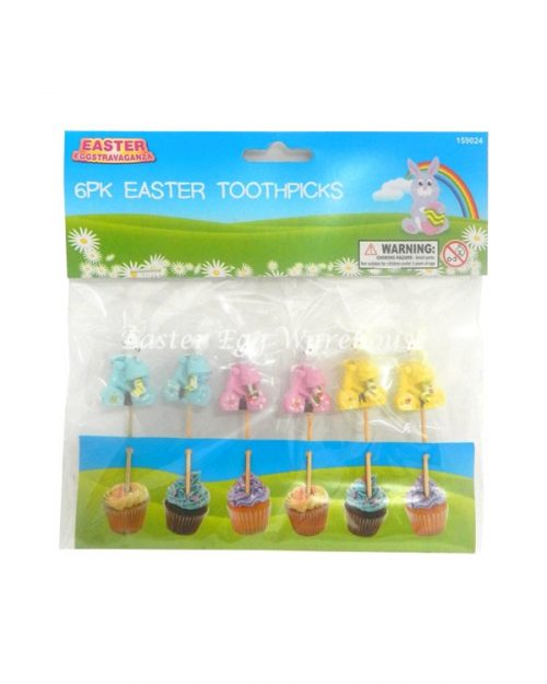 Easter Toothpicks 6pk