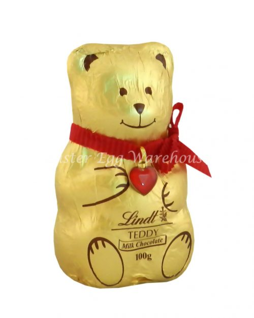 Lindt Christmas Teddy Milk Chocolate 100g