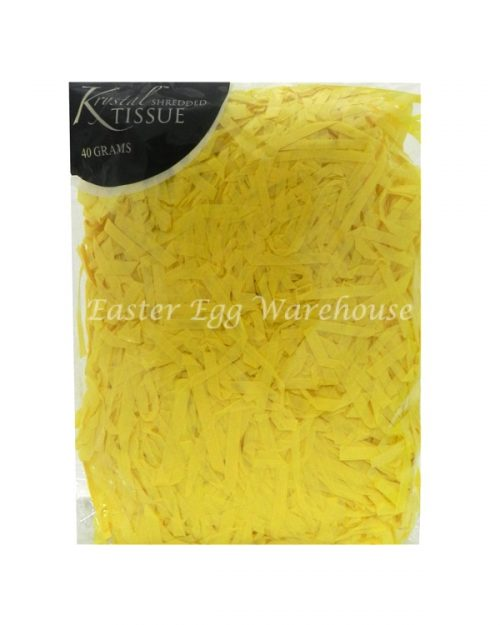 Yellow Shredded Tissue 40g
