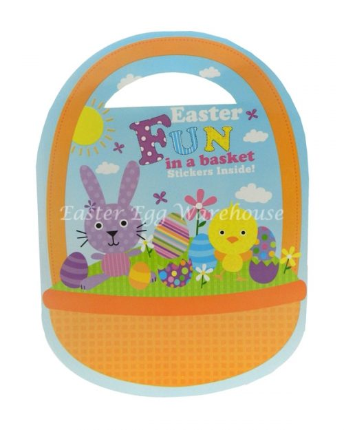 Easter Fun in a Basket Activity Book