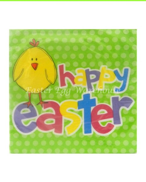 Luncheon Napkins - Easter Chick - 2PLY - 16PK