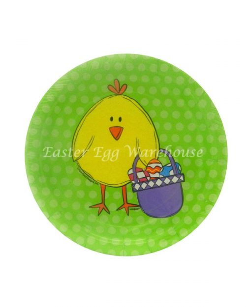 Paper Plate - Easter Chick - Small 17.8cm - 8PK