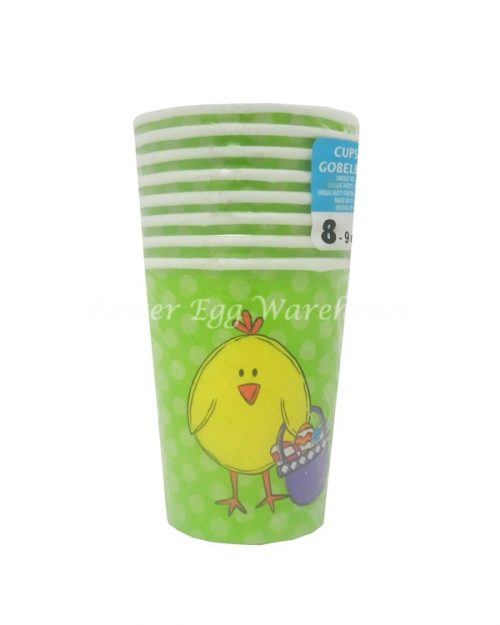 Paper Cups - Easter Chick - 8PK