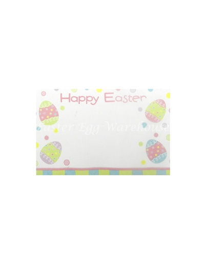 Happy Easter Gift Tag - Easter Eggs
