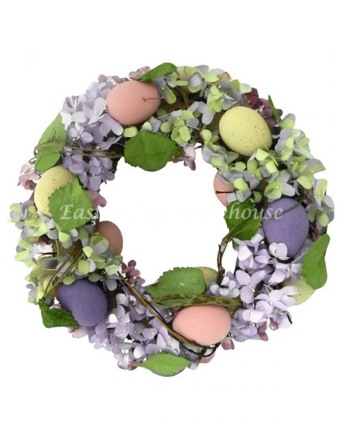 Easter Wreath - Hydrangeas
