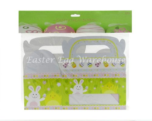Easter Treat Boxes 2PK - Bunny, Chick & Eggs