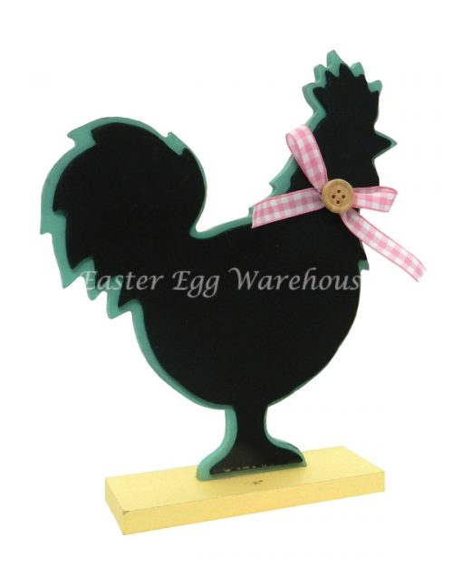 Blackboard Chicken - Pink Bow