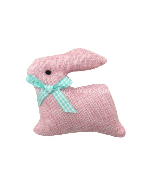 Hanging Soft Bunny - Pink