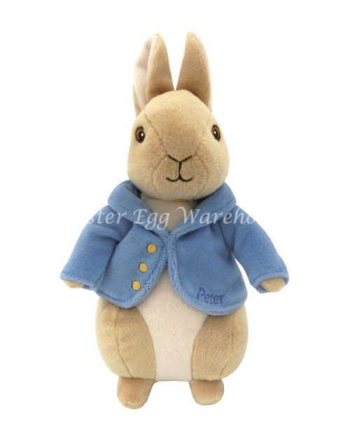 Silky Bean Bag Peter Rabbit 22cm