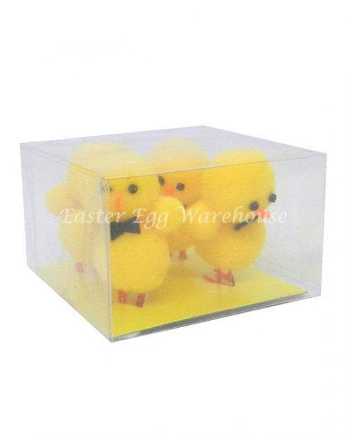 Chicks with Bow Tie - Yellow 4pk