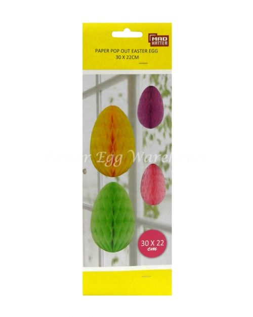 Paper Pop Out Easter Decoration - Easter Egg