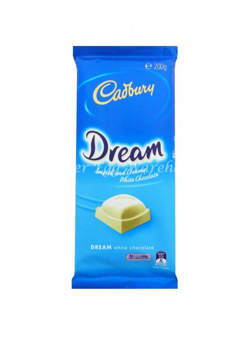 Cadbury Dream White Chocolate 200g