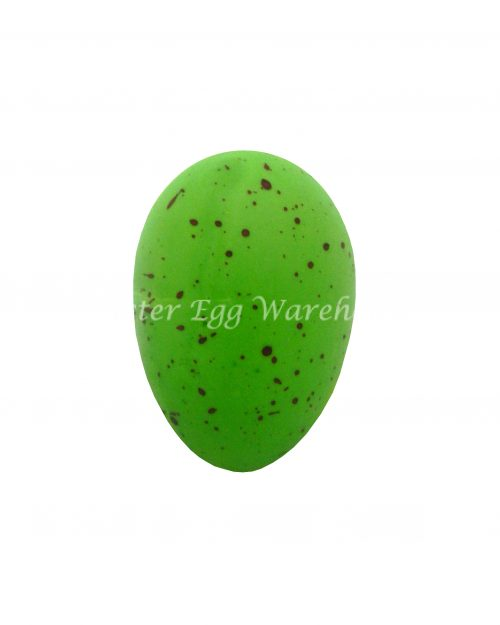 Green 10cm Hanging Easter Egg Decoration