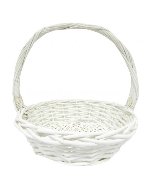 Anna White Cane Basket Medium
