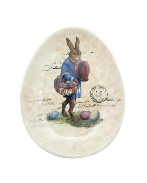 Ceramic Rabbit Plate
