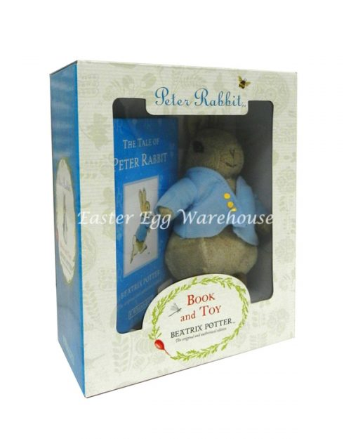 Peter Rabbit Book & Toy Gift Box