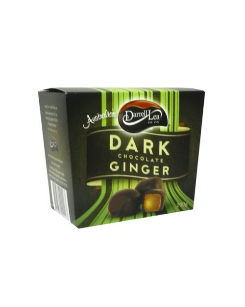 Darrell Lea Dark Chocolate Ginger 200g