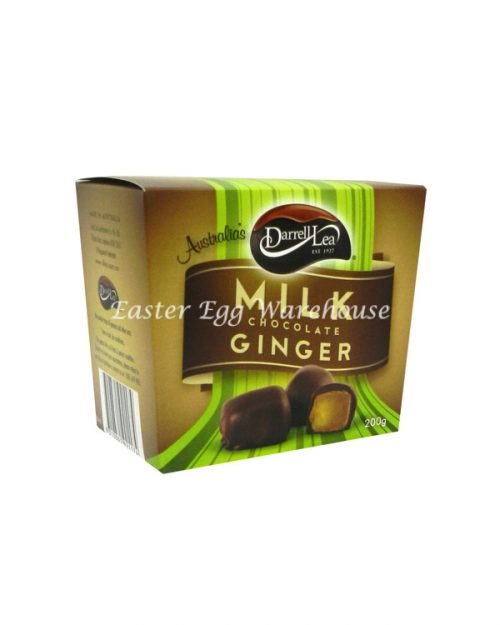 Darrell Lea Milk Chocolate Ginger 200g