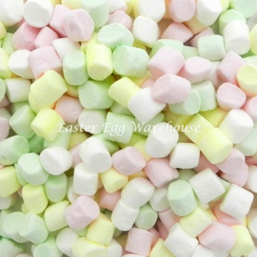 Mini Marshmallows Assorted Colours 200g
