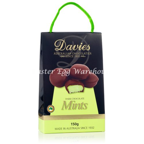 Davies Dark Chcocolate Mints Carry Packs 150g