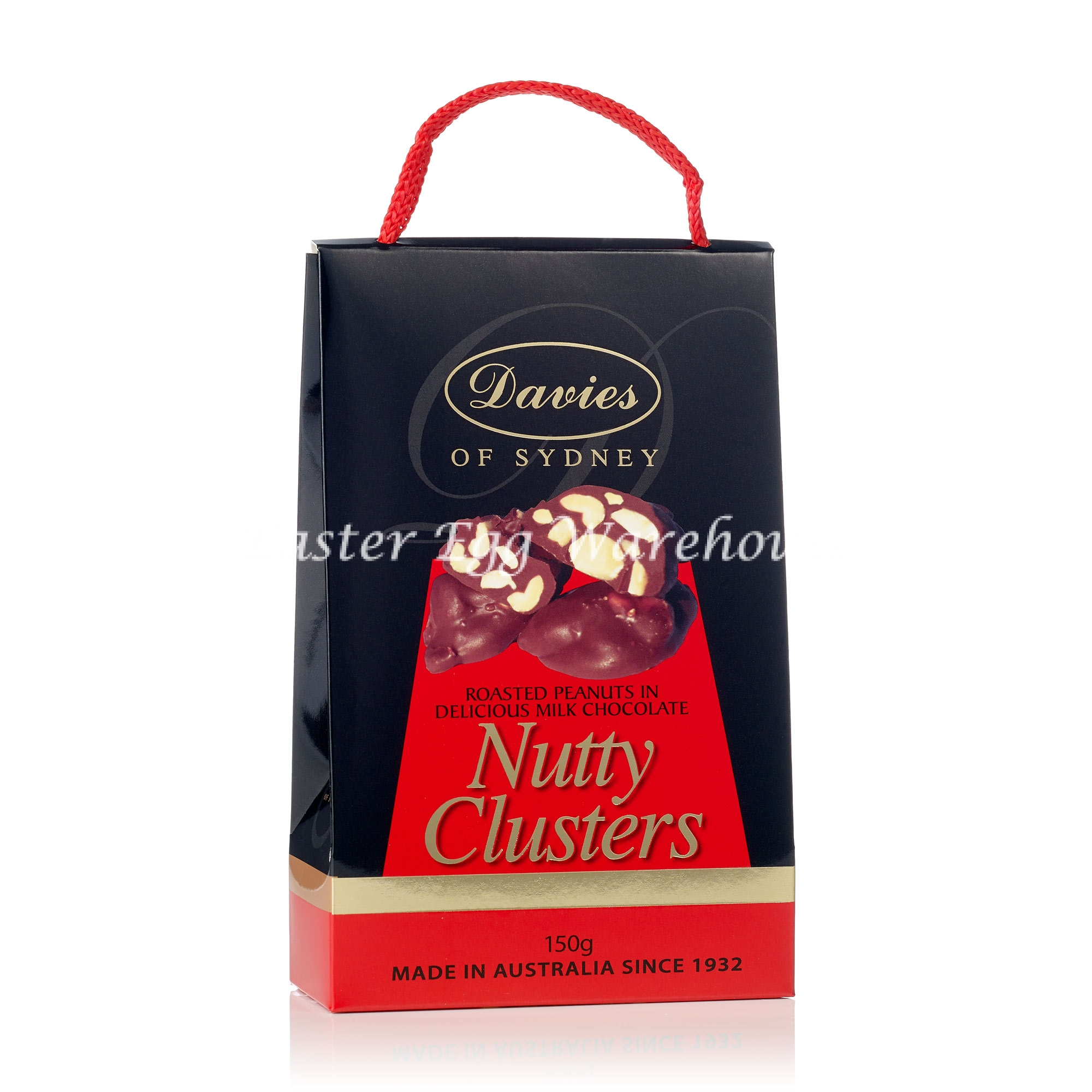 Davies Milk Nutty Clusters Carry Packs 150g