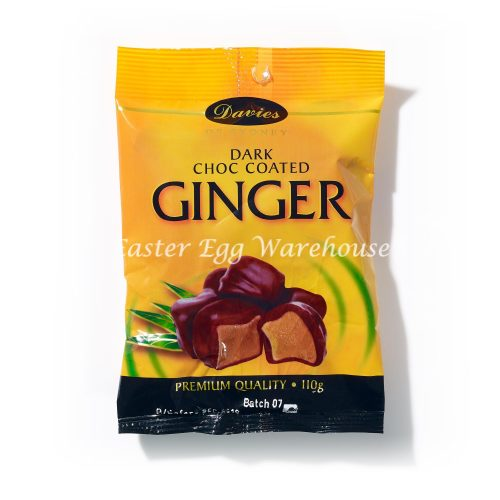 Davies Dark Chocolate Coated Ginger 110g