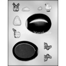 Egg Panoramic Chocolate Moulds
