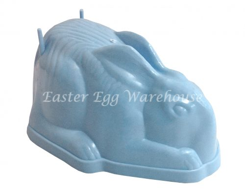 Large Sitting Bunny Mould Blue 19cm
