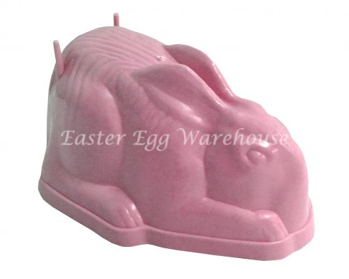 Large Sitting Bunny Mould Pink 19cm