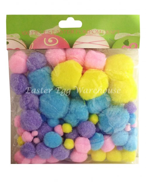 Easter Pom Pom Craft Set 100PC