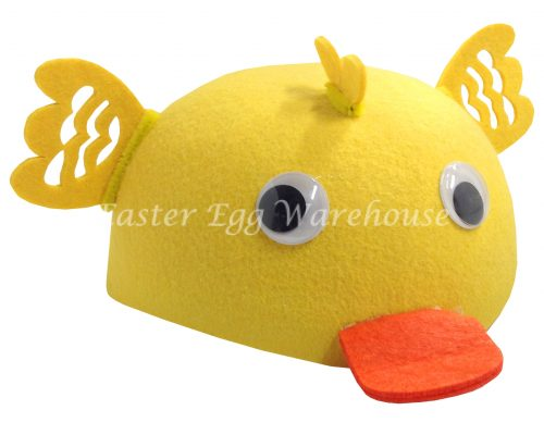 Yellow Chicken Hat