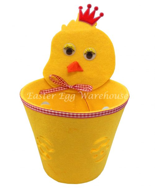 Felt Chick Easter Basket