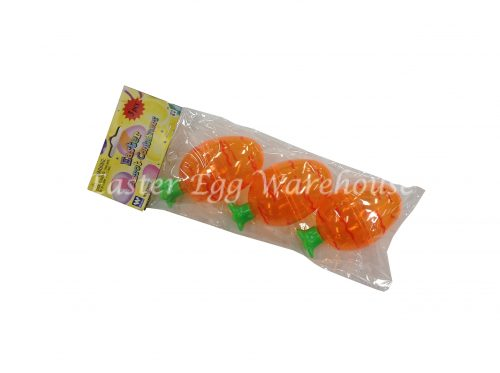 Plastic Easter Carrot Containers 3pk