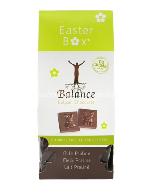 Balance Belgian Chocolate Praline Box No Added Sugar 100g