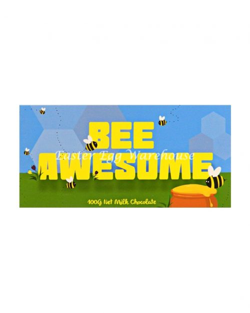 Bee Awesome - Milk Chocolate Bar 100g