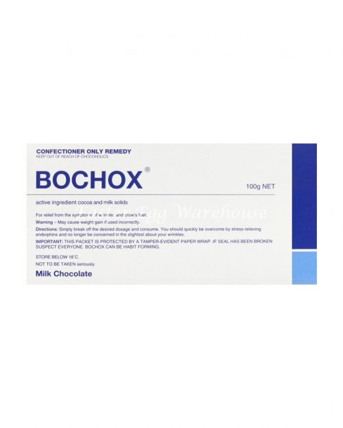 Bochox - Milk Chocolate Bar 100g