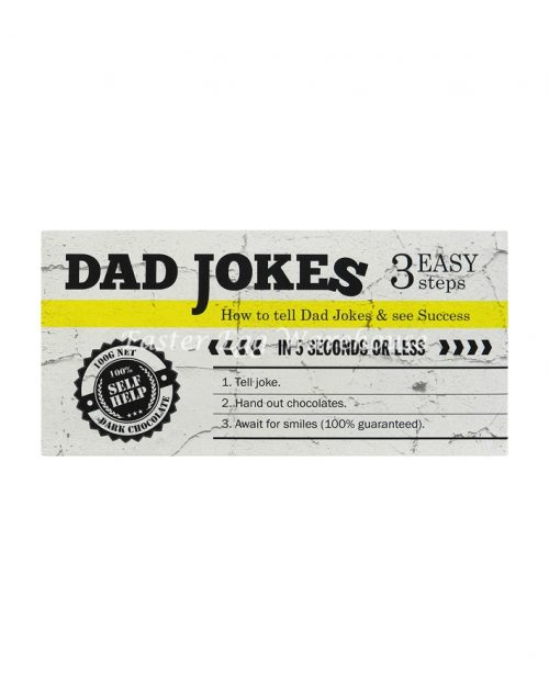 Dad Jokes - Dark Chocolate Bar 100g
